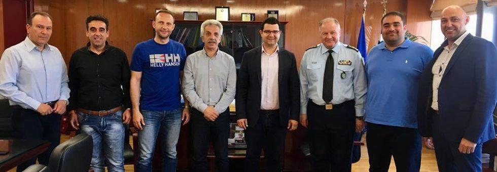 Συνάτηση  με τον Αρχηγό ΕΛ.ΑΣ. και το ΓΓ Δημοσίας Τάξης παρουσία της Ένωσης Αστυνομικών Υπαλλήλων Θεσπρωτίας