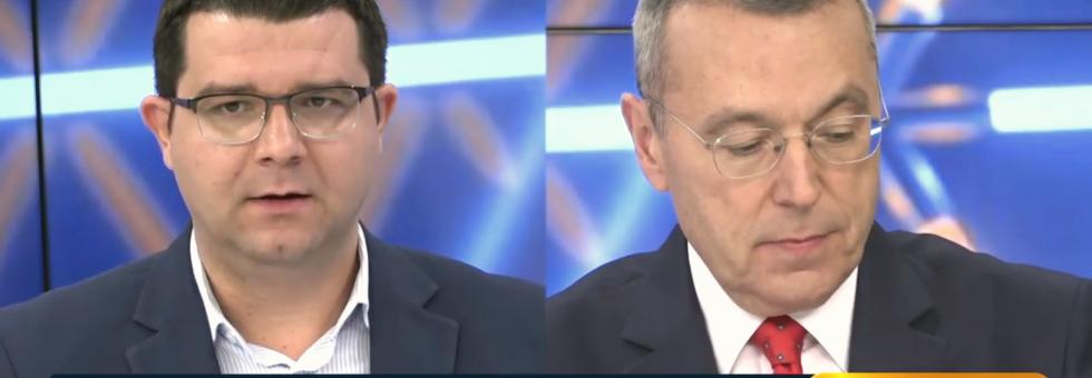 Στην εκπομπή Kontra24 – συζήτηση για την οικονομία και την επίσκεψη Moscovici