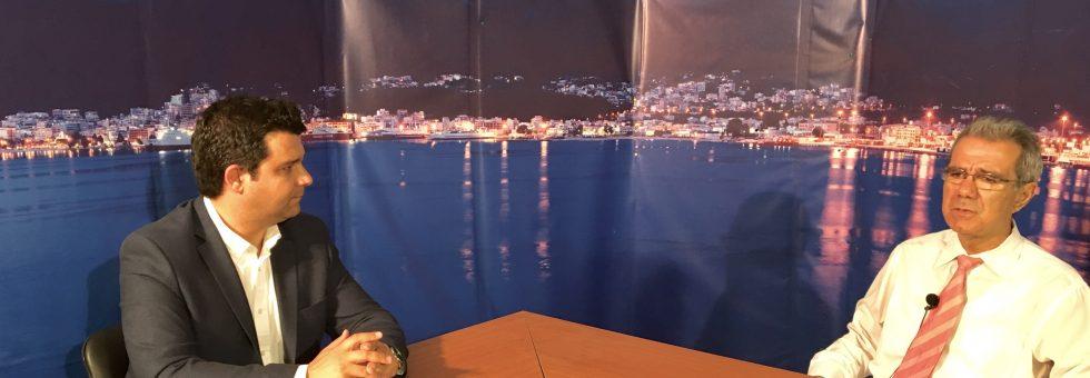Συνέντευξη στο ArtTv για όλα τα τοπικά ζητήματα της Θεσπρωτίας