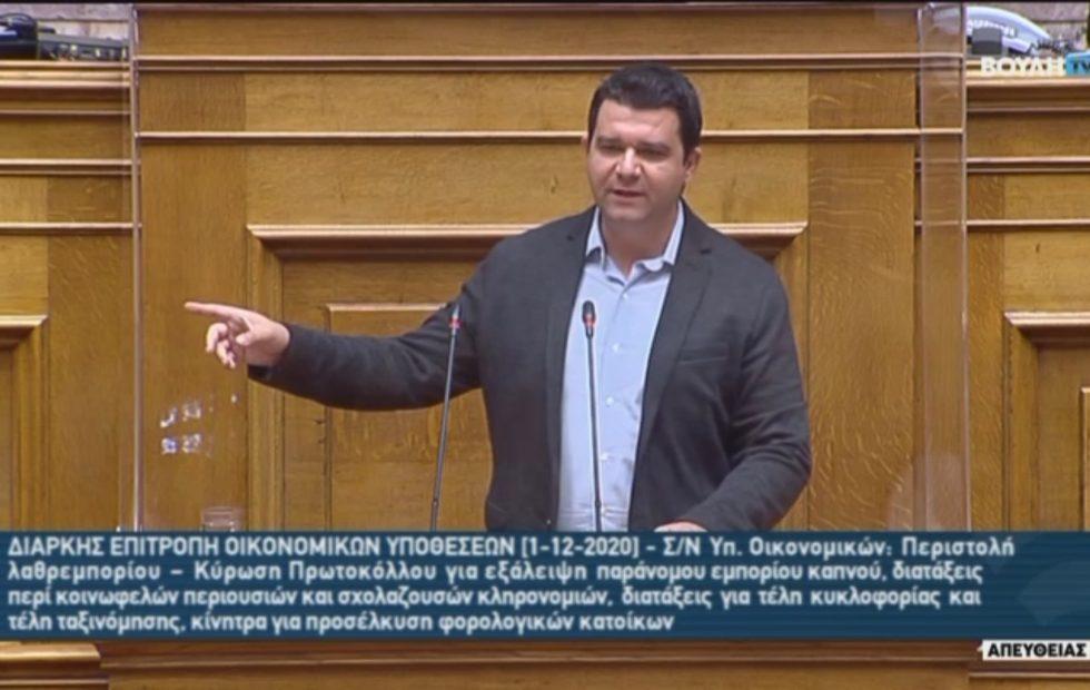 Ομιλία του Τομεάρχη Ψηφιακής Διακυβέρνησης του ΣΥΡΙΖΑ Μάριου Κάτση, για την τροπολογία που αφορά τα ΕΛΤΑ